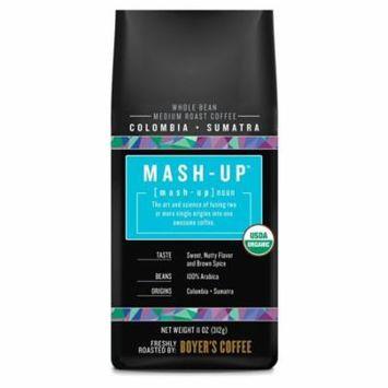 Mash-Up Colombia + Sumatra Blend Whole Bean Coffee, Medium Roast, 11 Oz