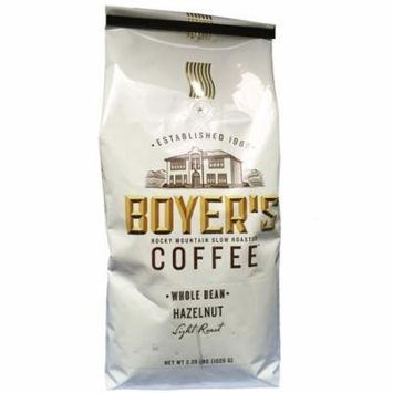 Boyer's Coffee, Whole Bean, Hazelnut (2.25 lb.) ES