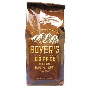 Boyer's Coffee, Whole Bean, Breakfast Blend (2.25 lb.) ES