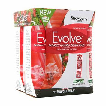 CytoSport Evolve Protein Shake Strawberry