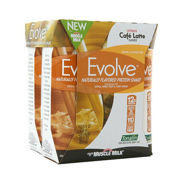 CytoSport Evolve Protein Shake Caf? Latte