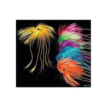 Neon Braid Hair Attachments (1 dz)