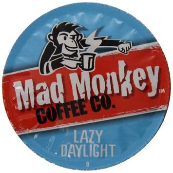 Mother Parker Mad Monkey Lazy Daylight, RealCup Portion Pack For Keurig Brewers