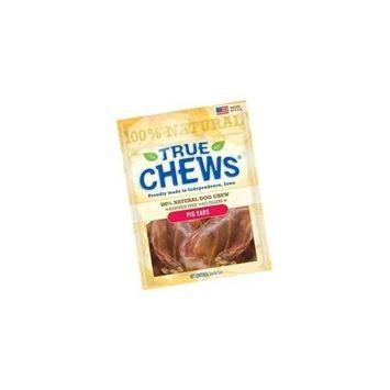 True Chews Dog Treats, Pork Ear, 12-Count