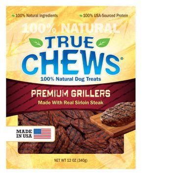 True Chews Premium Grillers Sirloin Steak Dog Treat