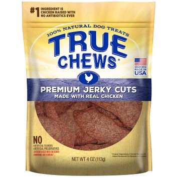 Tyson True Chews Premium Jerky Cuts with Real Chicken 4 Ounces