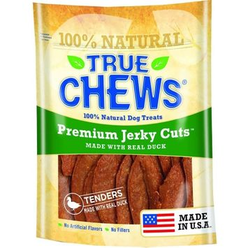True Chews Premium Jerky Cuts Made with Real Duck 22 oz