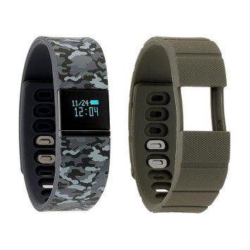 Ifitness Activity Tracker Unisex Multicolor Smart Watch-Ift5499bk668-078