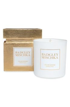 Badgley Mischka Home Candle, Size One Size - White