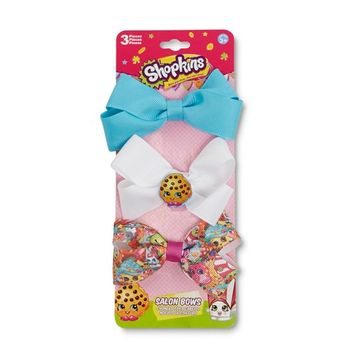 On the Verge Shopkins Girls' 3-Pack Hair Bows