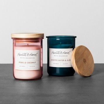 Lidded Jar Candle - Juniper Water & Aloe - Hearth & Hand™ with Magnolia