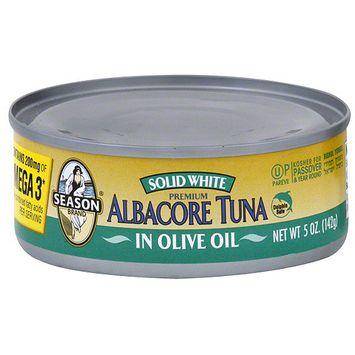 Seasons Season Solid White Albacore Tuna In Olive Oil, 5 oz (Pack of 24)