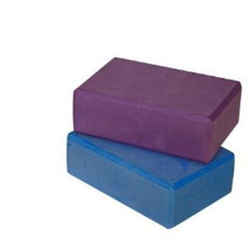 Ecowise 82124 Yoga Block-Blue Dahlia