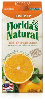 Florida's Natural Orange Juice (Some Pulp)