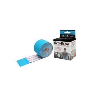 Nutriworks Acti-Tape Elastic Sports Tape Blue 2.6 oz