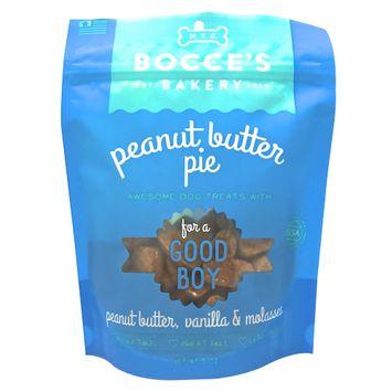 Bocce's Bakery Good Boy Dog Treat - Natural, Peanut Butter Pie size: 5 Oz