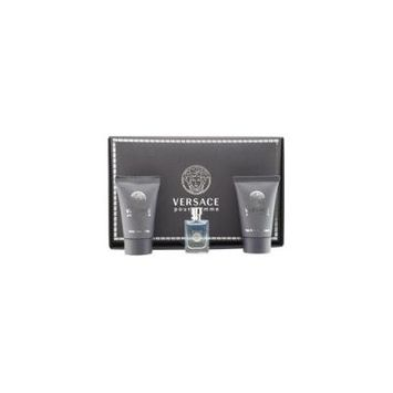VERSACE SIGNATURE by Gianni Versace - EDT .17 OZ MINI & AFTERSHAVE BALM .8 OZ & HAIR AND BODY SHAMPOO .8 OZ - MEN