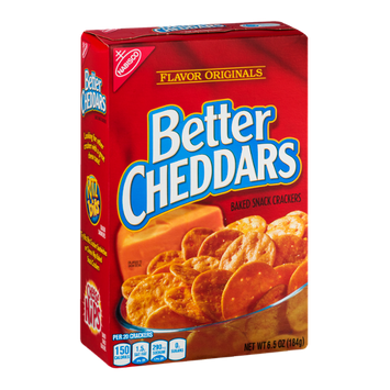 Better Cheddars Baked Snack Crackers