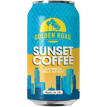 Golden Road Brewing Sunset Coffee Oatmeal Milk Stout