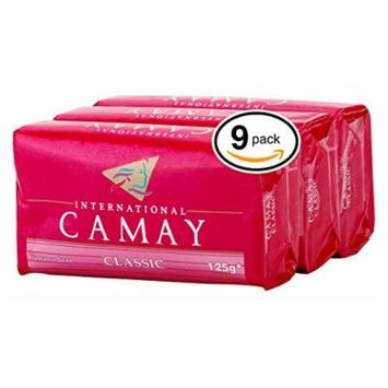 Camay Classic Bar Soap 3 Bars In A Pack 3 Pack (9 Bars)