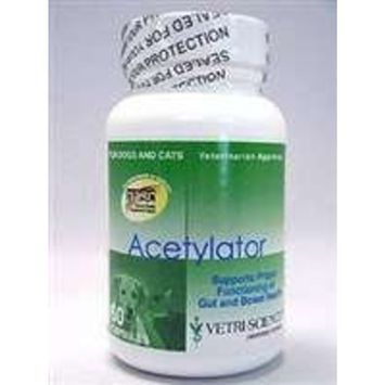 Vetri-Science Laboratories Acetylator Supplement for Pets, 60 Count