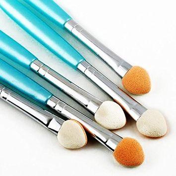 Eye Brush Set 5PCS,Eyeliner Eyeshadow Blending Brush Makeup Tools Cosmetic Brushes Kit Random