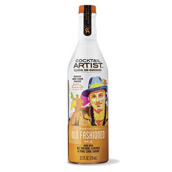 Cocktail Artist Essential Bar Ingredients Premium Old Fashioned Mix, 25.3 fl oz