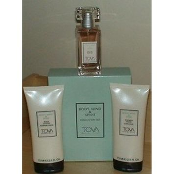 Tova Body, Mind & Spirit Discovery Set~Eau De Parfum, Body Lotion & Shower Gel