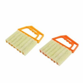 New Upgraded Multifunctional Venetian Blind Brush Window Air Conditioner Duster Dirt Dust Cleaning Cleaner Protable Home Clean Tool, Random