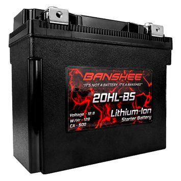 Shorai lithium battery, YTX20HL-BS, Replacement Battery