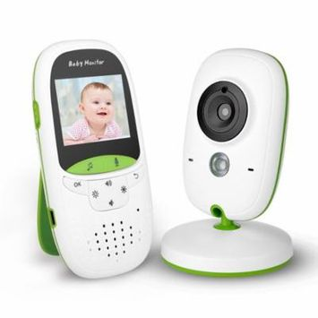 Wireless Video Baby Monitor with Camera, Infrared Night Vision 2 Way Talk Back Temperature Monitor & Lullabies