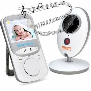 Audio Video Baby Monitor (Larger 2 Monitor) Camera Night Vision Temperature Monitor