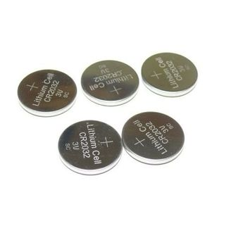 3V Button Cell 5PACK CR2032 Lithium Battery for Scales Calculator Remote Watch
