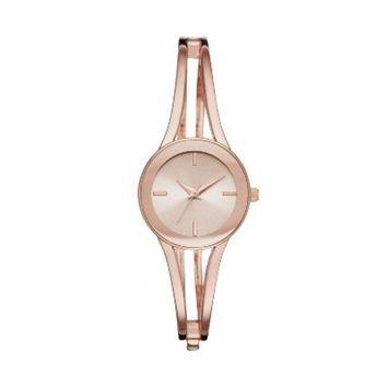 Women's Half Bangle Watch - A New Day™ Rose G