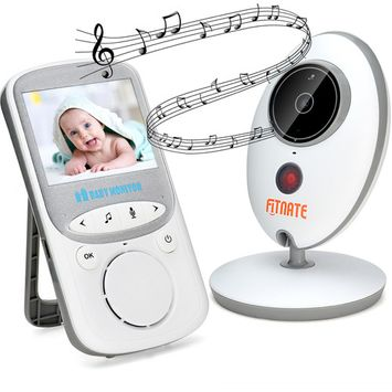 Wireless Video Baby Monitor (Larger 2 Monitor) Digital Camera Night Vision Temperature Monitor