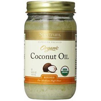 Organic Coconut Oil, 14 fl oz (414 ml) - Spectrum Naturals - UK Seller by Spectrum Naturals