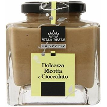 Villa Reale Ricotta and Chocolate Spread, 7.76 Ounce, Pack of 1
