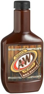 A&W® Rich 'N Hearty Barbecue Sauce