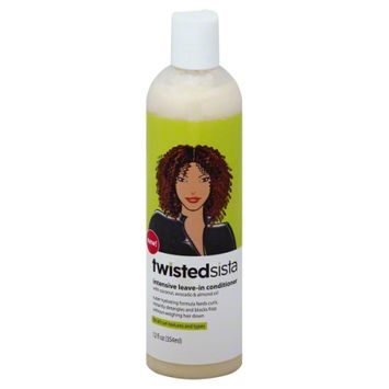 Twisted Sista Intensive Leave In Conditioner, 12 fl oz