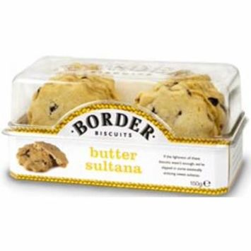 Border Butter Sultana Case of 6 X 150gs