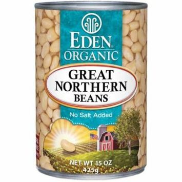 Eden Great Northern Beans, Organic, 15 Ounce (Pack of 4)