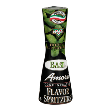 Amore Concentrated Flavor Spritzers Basil