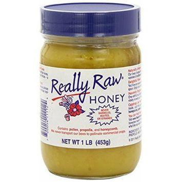 Really Raw Honey, Honey, 2Pack (1 lb (453 g) Each)