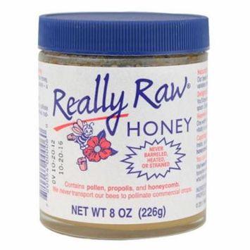 Really Raw Honey Unstrnd Pest Free,8Oz (Pack Of 12)