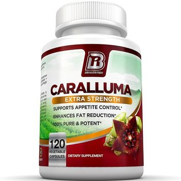 BRI Nutrition Caralluma Fimbriata - Natural Appetite Suppressant & Weight Loss Diet Pills - 1000mg, 60-Day, 120 Count Vegetarian Capsules