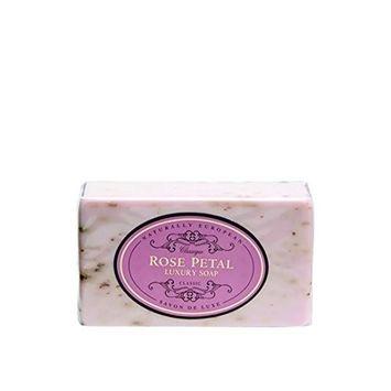 Naturally European Rose Petal Classic Luxury Soap, 230 Ml / 8 0z SINGLE BAR
