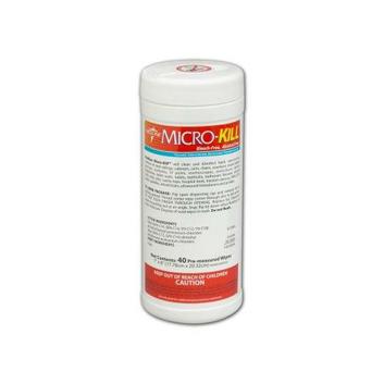Medline MicroKill Disinfectant Wipes