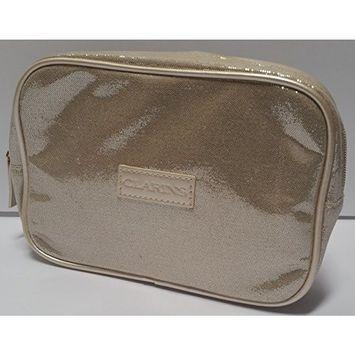 Clarins Medium Size Cosmetic Travel Case Bag Light G