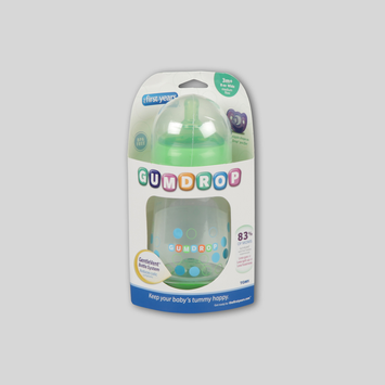 The First Years Gumdrop 8oz Wide Bottles 1-pack Y4967 (Assorted)