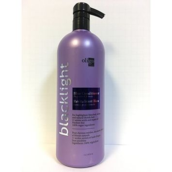 Oligo Blacklight Blue Conditioner For Blonde Hair - 33.8oz LITER